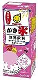 マルサン 豆乳飲料 かき氷 れん乳いちご風味 200ml ×24本