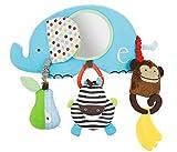 DEZAR ベビーカー用おもちゃ 動物