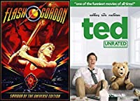 The Unbelievable Sam J Jones As Flash Gordon: TED (Unrated) & Flash Gordon (Savior of the Universe Edition) 2 DVD Bundle Double Feature【DVD】 [並行輸入品]