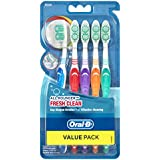 Oral-B All Rounder Fresh Clean Toothbrush Medium 5 Pack+D22