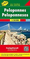 Peloponnese (Road and Leisure Time Map) by Freytag-Berndt und Artaria(2008-08-01)