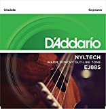 D'Addario ダダリオ ウクレレ弦 EJ88S Nyltech Soprano ソプラノ (Aquira共同開発弦) 【国内正規品】