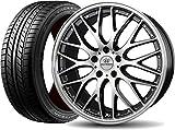 サマータイヤ・ホイール 1本セット 19インチ GOODYEAR(グッドイヤー)イーグル LS EXE 245/40R19 + ロクサーニ マルチフォルケッタ