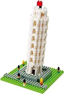 ナノブロック ピサの斜塔