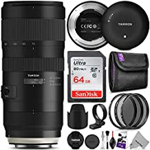(Canon) - Tamron SP 70-200mm f/2.8 Di VC USD G2 Lens for Canon EF Cameras w/Tamron Tap-in Console and Essential Photo Bundle