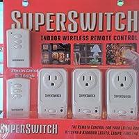 スーパースイッチ屋内ワイヤレスリモートコントロール