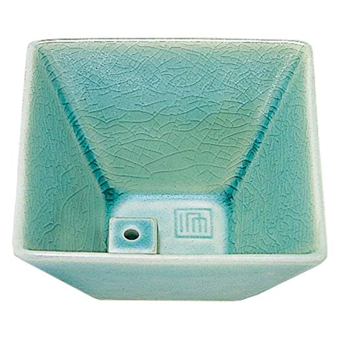 アクセント採用する便宜縁 香器 青磁色