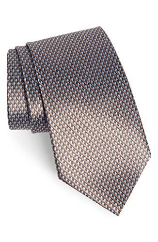 エルメネジルド・ゼニア メンズ ネクタイ Ermenegildo Zegna Solid Silk Tie [並行輸入品]
