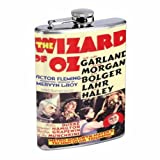 Wizard Of Oz 1939 Judy Garland 8OZ Stainless Steel Flask D-494 by Perfection In Style [並行輸入品]