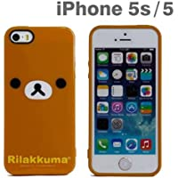 リラックマ iPhone5/5Sソフトジャケット リラックマ GRC-97A