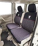 ボンフォーム シートカバー バケットタイプ ミニー フロントベンチシート用 ブラック 軽自動車用 4367-66BK