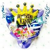 birthdayking☆キャンディ付き?バルーンギフト*キャンディブーケ*送料無料*