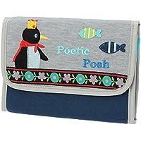 ニックナック じゃばら母子手帳ケース ポエティック ペンギン 02801-04
