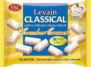 YBC ルヴァンクラシカルクラッカークランチ瀬戸内レモン 92g×12袋