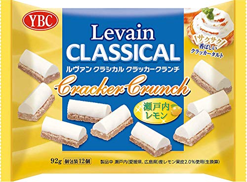 YBC ルヴァンクラシカルクラッカークランチ瀬戸内レモン 92g ×12袋