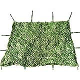 ウッドランド迷彩ネッティングアーミーメッシュネット軽量耐久性のための軍事サンシェード装飾狩猟ブラインド撮影キャンプ写真 - 緑