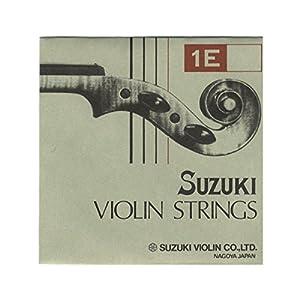 鈴木バイオリン 弦 Suzuki スズキ E スチール Violin ( ヴァイオリン ) 4/4-3/4用