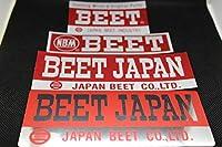 BEET アルミ ステッカー SET 検/CBX400F CBR400F GS400 GT380 GSX ザリ ゴキ Z400FX Z1 Z2 MK2 Z1R XJ XJR BEET 当時物 旧車