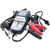 TECMATE ( テックメイト ) バイク用 全自動充電器 オプティメート4 デュアル/Optimate 4 DUAL [ 車両ケーブル付 ] 国内正規品