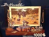 "Bo Newell、""訪問者からAfrica "" 1000"
