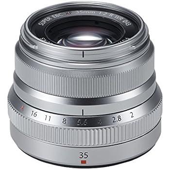 FUJIFILM 単焦点標準レンズ XF35mmF2R WR S シルバー