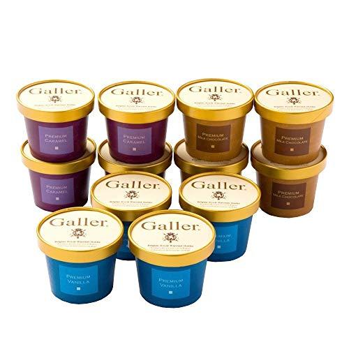 ベルギー王室御用達ブランド Galler(ガレー)監修 プレミアムアイスクリームセット 12個入 Galler公式ショップ