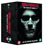 Sons Of Anarchy - Complete Seasons 1-7 [DVD] [Import]