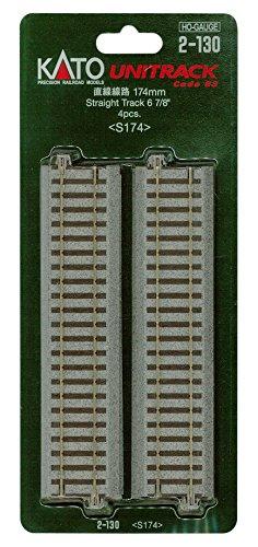 KATO HOゲージ 直線線路 174mm 4本入 2-130 鉄道模型用品