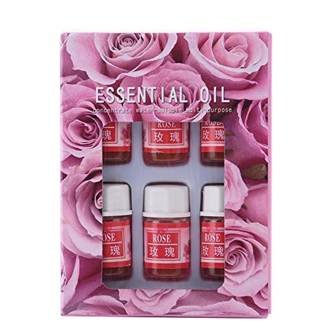 6個 3ML 天然香料 アロマセラピー 加湿器用 水溶性 エッセンシャルオイル 睡眠を改善します 良い香り(02)