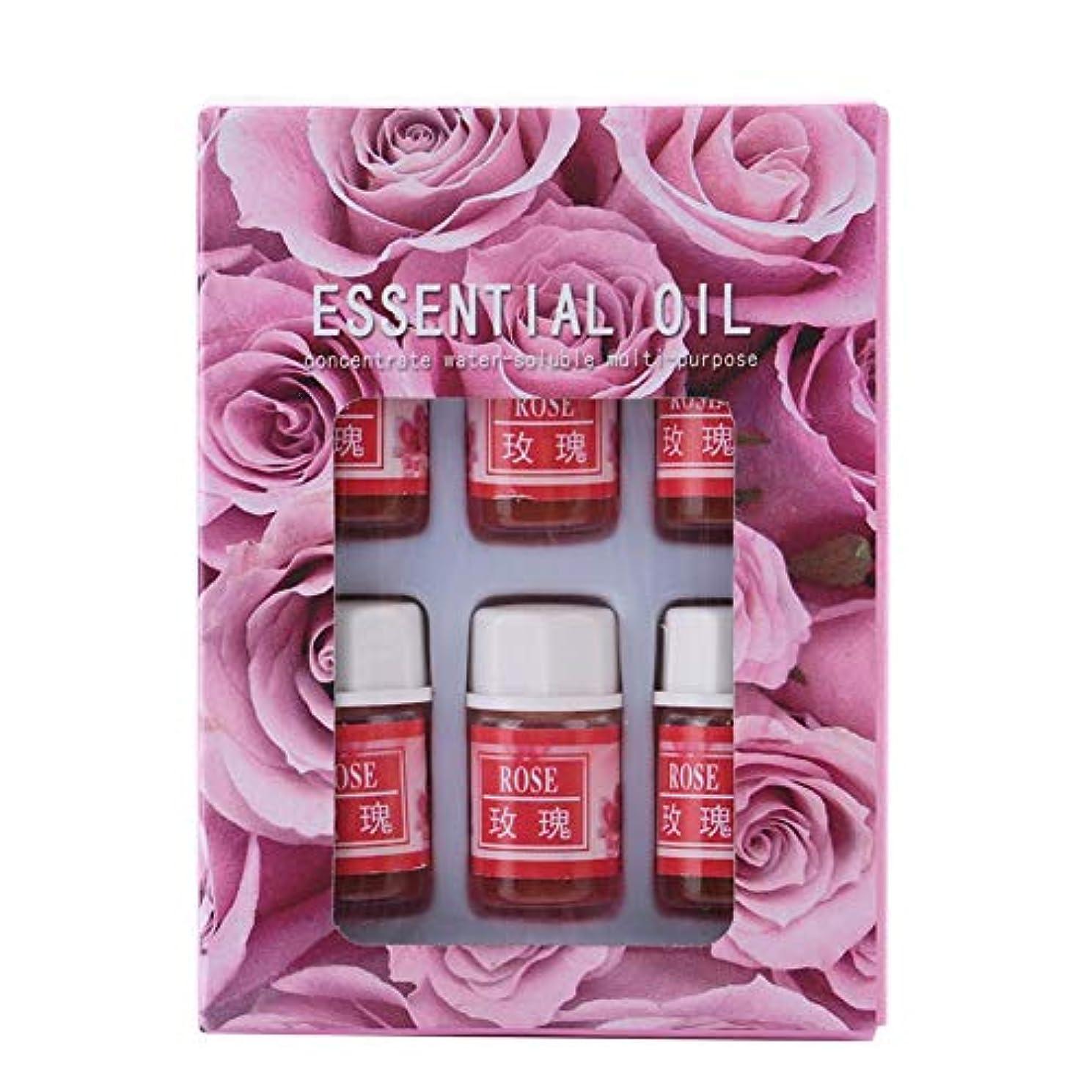 マグジャングルチート6個 3ML 天然香料 アロマセラピー 加湿器用 水溶性 エッセンシャルオイル 睡眠を改善します 良い香り(02)