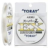 東レ(TORAY) ハリス トヨフロン スーパーL・EX ハイパー フロロカーボン 50m 1号 ナチュラル