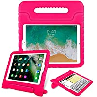 iPad 2 3 4 mini 1 2 3 4 air Pro 9.7 10.5 12.9 air 10.5 耐衝撃 スタンドケース (iPad 2 3 4, Pink)