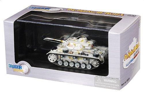 1:72 ドラゴンモデルズ アーマー コレクター シリーズ 60578 Daimler-Benz Sd.Kfz.141 装甲車 III L ディスプレイ モデル ドイツ軍 25.PzRgt 7.PzD
