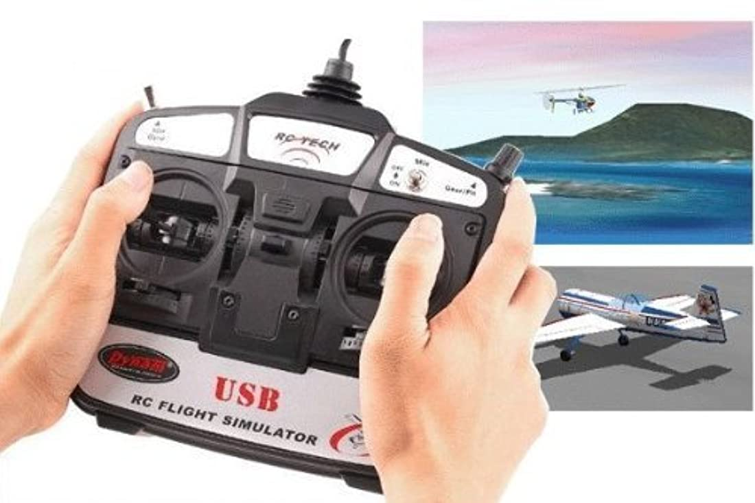 ジャベスウィルソンマイクロ浮く地球DR リアルフライト6 ヘリ用 RCフライトシミュレーター