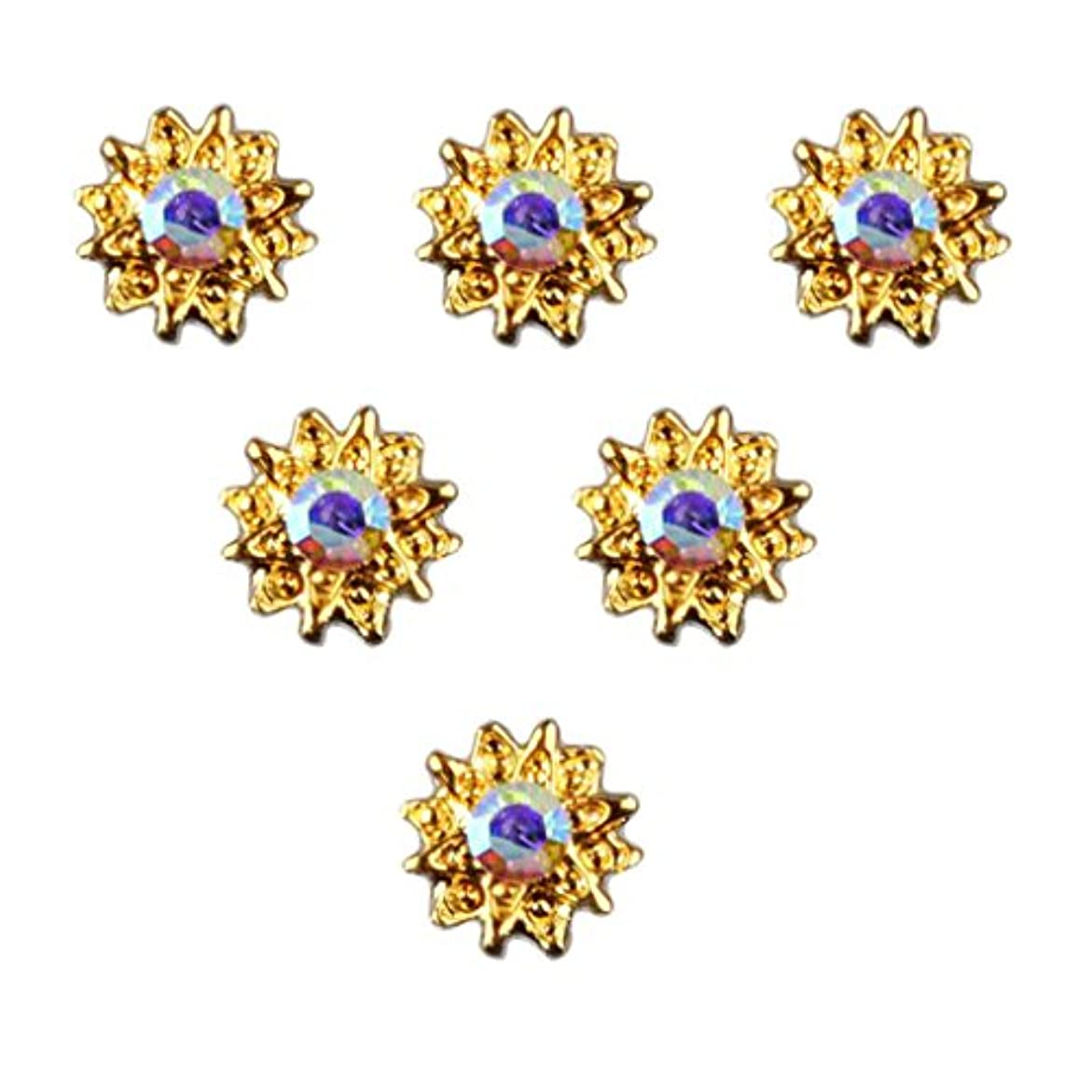 小人おしゃれじゃないベギンT TOOYFUL 全8種類 マニキュア ネイルデザイン ダイヤモンド 3Dネイルアート ヒントステッカー 50個入り - 5