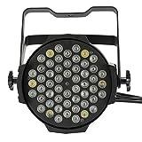 LixadaLEDステージライト パーティーグッズ RGBW パーライト イベント照明 LEDライト  80W 54LED DMX512対応 サウンドアクティブモード/オートモード 8チャンネル ウォールウォッシュライト