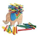 子供スマートおもちゃ木製ブロックトイバランシング象教育キャメルバーゲームおもちゃ