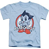 Astro Boy Target Unisex Youth Juvenile T-Shirt for Girls and Boys