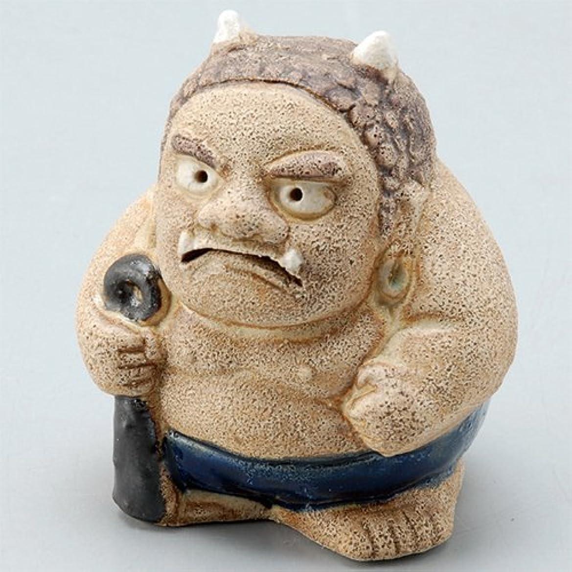 クリップ鋼後香炉 飾り香炉(福鬼) [H6.8cm] HANDMADE プレゼント ギフト 和食器 かわいい インテリア