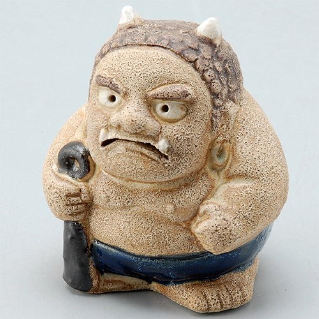 遊びますアーティストレザー香炉 飾り香炉(福鬼) [H6.8cm] HANDMADE プレゼント ギフト 和食器 かわいい インテリア