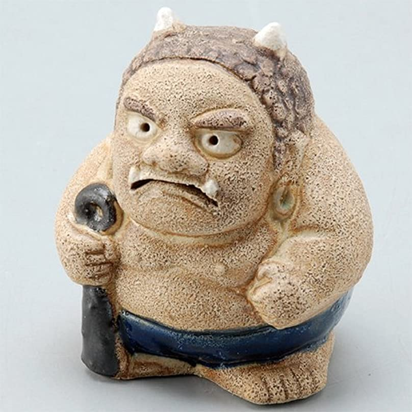 香炉 飾り香炉(福鬼) [H6.8cm] HANDMADE プレゼント ギフト 和食器 かわいい インテリア