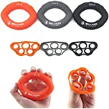 5BILLION Hand Strength Grip & Finger Stretcher - Strength Trainer for Golf Grip, Guitar Finger, Forearm Exercise, Cycling, Climbing, Prevention and Rehab