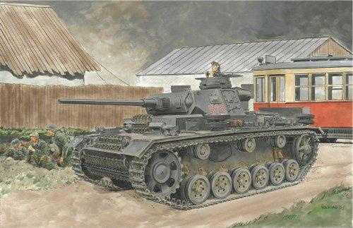 1/72 III号戦車 J型 後期