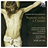 ペルゴレージ : オラトリオ 「十字架上のキリストの最後の7つの言葉」 (Giovanni Battista Pergolesi : Septem verba a Christo / Akademie fur Alte Musik Berlin , Rene Jacobs) [輸入盤] 画像