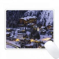 Courchevel Mountain PC Mouse Pad パソコン マウスパッド