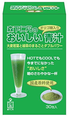 森下仁丹 森下仁丹のおいしい青汁 3.3g×30包入り