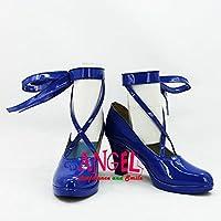 【サイズ選択可】女性24CM B1B00103 コスプレ靴 ブーツ VOCALOID ボーカロイド セブンスドラゴン 2020 初音ミク Miku
