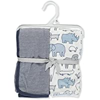 Carter 's Baby Boys ' 2 - Pack Swaddle Blankets