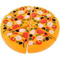 SONONIA 6個いり 多色 ピザ 食べ物 スライス 台所 キッチン 子供 ロールプレイ 楽しい ままごと おもちゃ