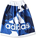 (アディダス)adidas スイミングウェア ラップタオル S DJE38 [ジュニア] DJE38 BS4828 ブルー/ミステリーブルー S17/ホワイト 1